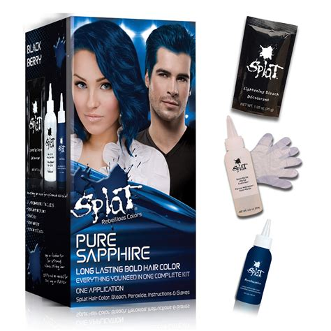 splat color splat rebellious colors semi permanent complete kit