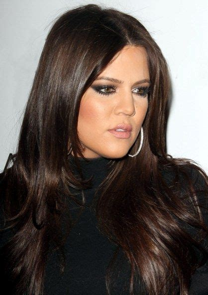 rich hair color khloe rich brown hair the color style