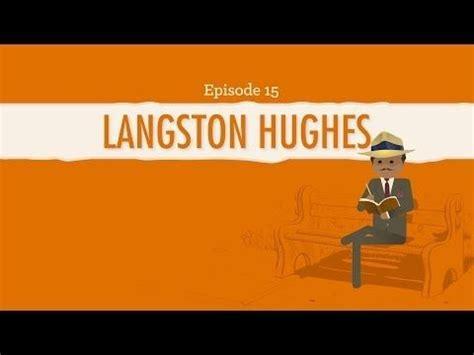 langston hughes biography youtube pinterest the world s catalog of ideas