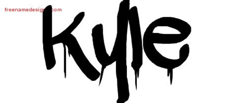 kyle tattoo font top the name kyle in cursive images for pinterest tattoos