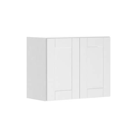 hton bay 18x30x12 in wall flex cabinet with shelves