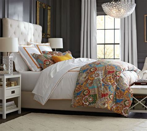 Pottery Barn Lorraine Headboard by Pottery Barn Best Selling Upholstered Beds Sale Save Up