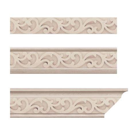 decorative ceiling appliques designs of distinction baroque crown molding insert van