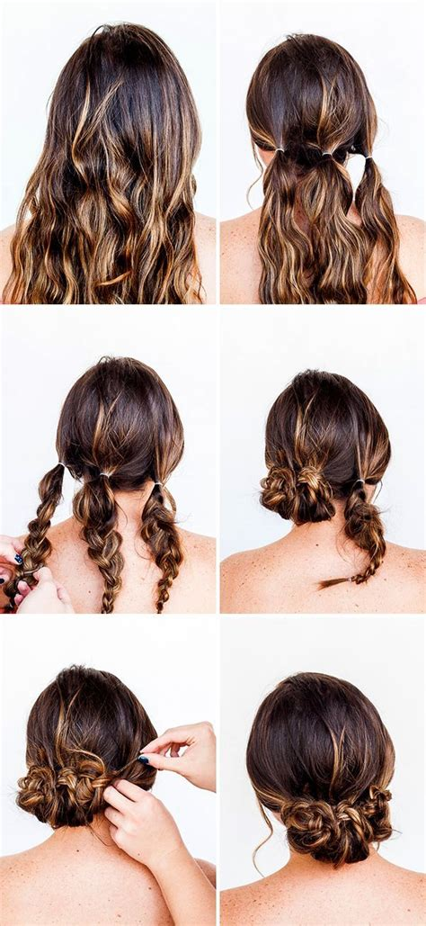 tutorial thin hair hairstyles 25 best ideas about easy updo on pinterest easy chignon