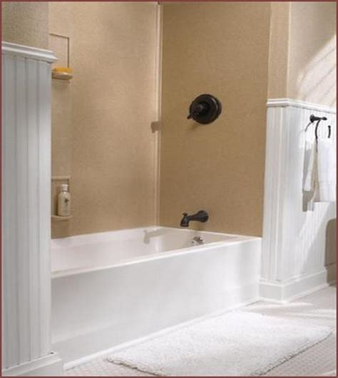 solid surface bathtub wall surround home design ideas