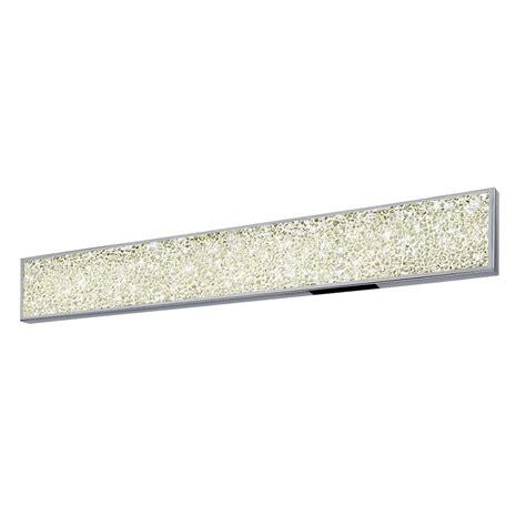 36 inch bathroom light fixture sonneman 2562 01 dazzle contemporary polished chrome led