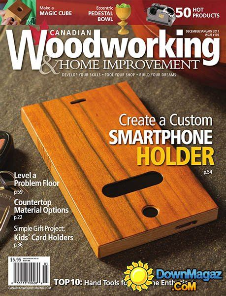 canadian woodworking home improvement december 2016