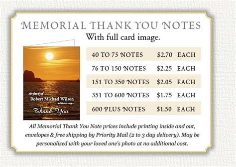 Thank You Note For Donation Funeral Memorial Donation Thank You Wording Image Search Results