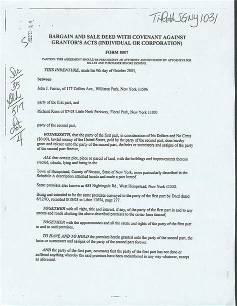 deed for house deed to house free printable documents