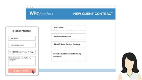design gravity form get your gravity forms signature add on by wp esignature