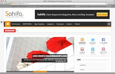 sahifa theme themeforest 50 powerful wordpress themes from themeforest corpocrat