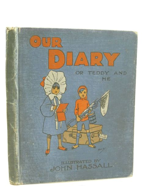 Diary Teddy our diary or teddy and me book code 307570 stella