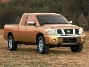 Nissan Titan Msrp 2005 Nissan Titan Models Trims Information And Details