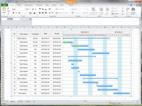 Gantt Excel Create Gantt Chart For Excel