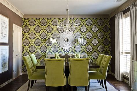 Regency Green Dining Room 15 Interior Designs With Tufted Furniture