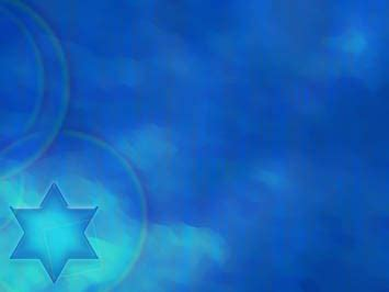 star of david 07 powerpoint templates