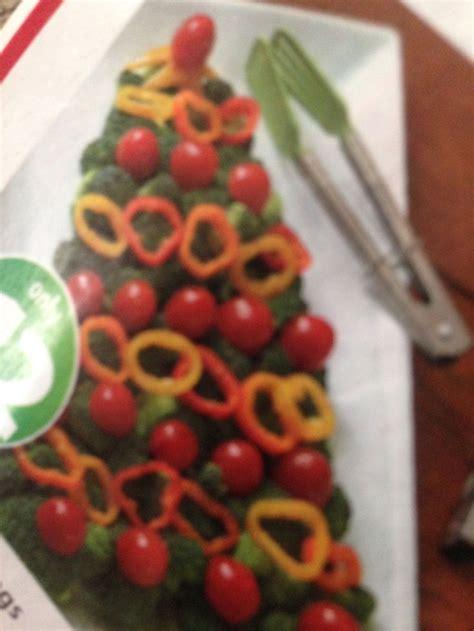 Christmas tree veggie tray yumm o pinterest