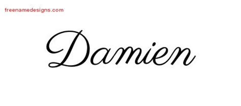 damien archives free name designs