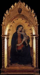 96 Drapery Panels Madonna And Child By Masolino Da Panicale