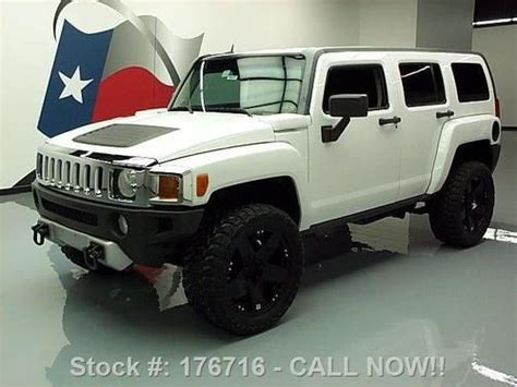 hummer h3 wheels for sale buy used 2008 hummer h3 4x4 auto cruise 20 wheels