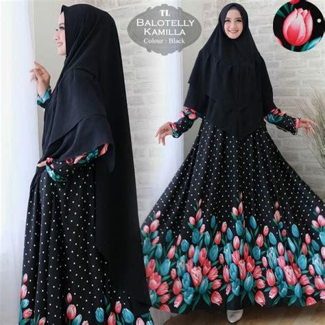 Syari Kamilla gamis syari baloteli kamilla baju muslim cantik murah