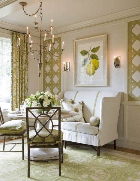 house decorating blogs victoria neale spring green and white dining room the