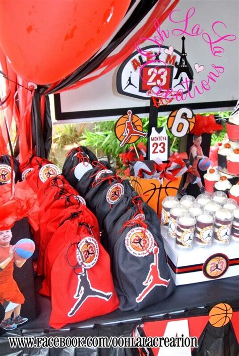 homemade themes by james jordan basketball party decor bithday ideas pinterest