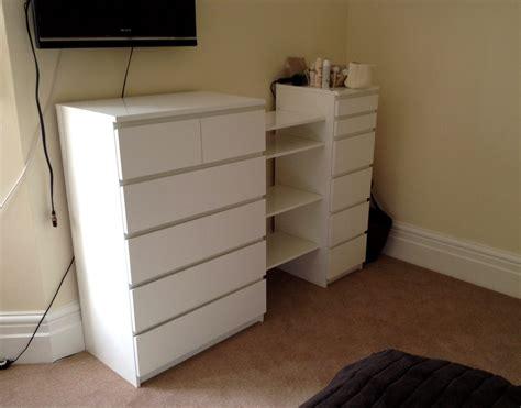 ikea comodino malm ikea malm drawers besta shelf hack flat pack dan