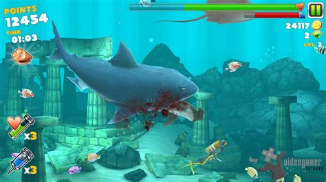 mod game hungry shark evolution home games apps