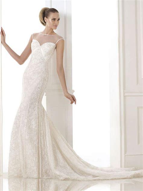 vestido corte sirena a quien favorece tendencias en vestidos de novia detodoparanovias