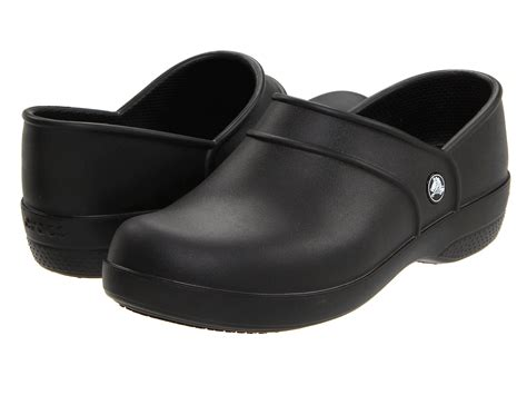 work clogs for crocs neria work black zappos free shipping both ways