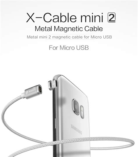 Kabel Data Magnetic Cable 2 In 1 Type C Micro wsken type c losse tip voor x cable mini 2 premium a grade magnetische kabel