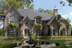 French Country Home Designs Chateau Lafayette French Country House Plan
