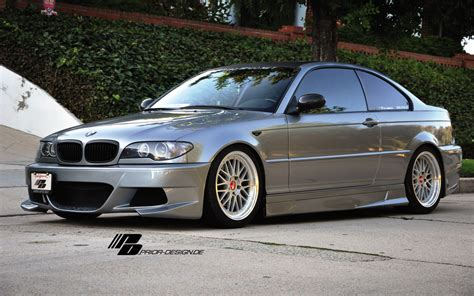 prior design aerodynamic kit for bmw e46 coupe