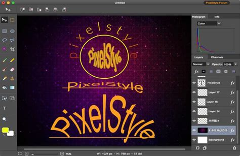 text layout software mac photo editor pixelstyle photo editor for mac