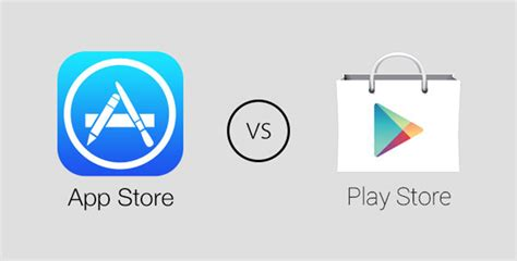 Play Store Vs App Store Revenue Play Store Vs App Store