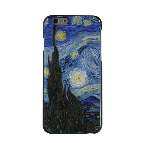 Casing Iphone 6s Airwaves Custom custom cover for iphone 5 5s 6 6s plus gogh starry