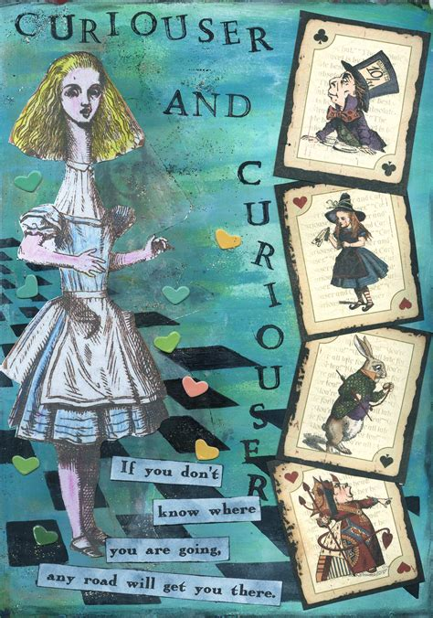 Curiouser And Curiouser by Cheshire Cat Aj S Journaling