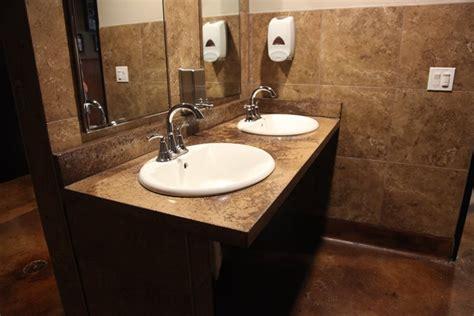 restaurant bathroom sinks photo gallery concrete sinks san diego ca the