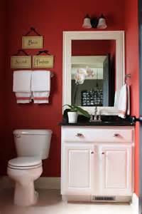 Small Red Bathroom Ideas by Decor Disputes Does Dark Paint Make A Room Feel Smaller