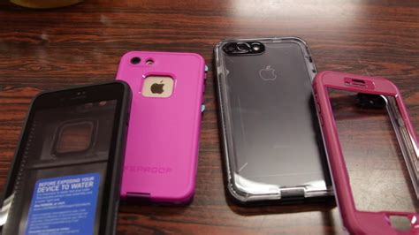 lifeproof fre case  nuud case quick comparison iphone