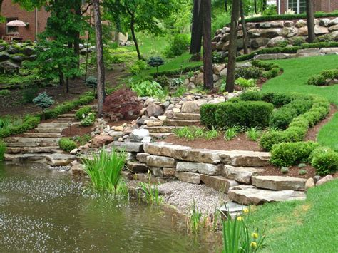 Terraced Backyard Landscaping Ideas by Garden Ideas For Your Homes To Make Fresh Comfort