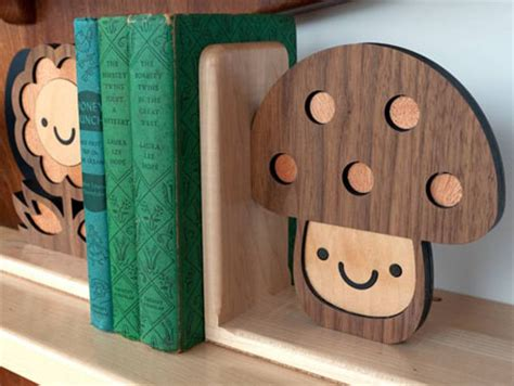 green and unique woodland happy tree bookshelf from
