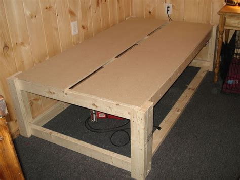 Raised Bed Frame Raised Cabin Bed Frame With Space