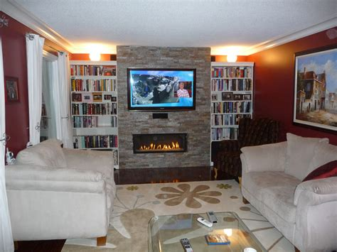 linear fireplace with tv above marquis grand infinite friendly firesfriendly fires