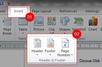 gambar number format membuat format page number berbeda pada ms word