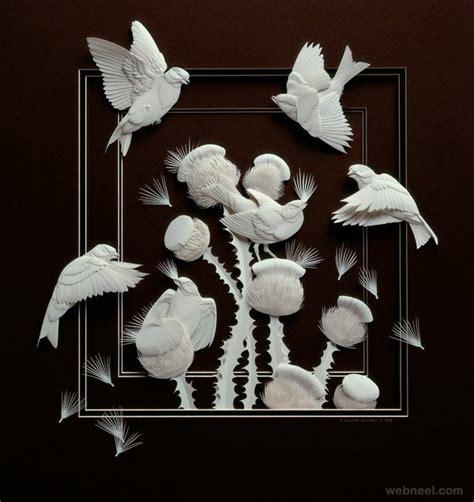 Paper Artist - 30 creative and beautiful paper sculptures by calvin nicholls