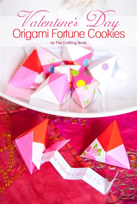 Origami Fortune - valentine s day origami fortune cookies and easy