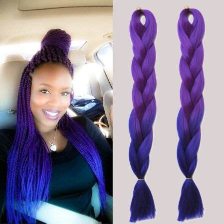 pictures of blue hair braided into brown hair 36 best images about ombre box braids braiding hair on