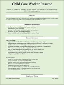 child care resume sle sle child care worker resumes for microsoft word doc